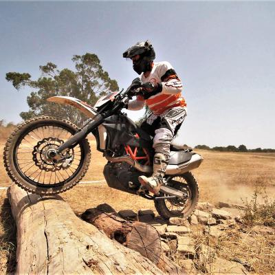 Adventure training KTM 690