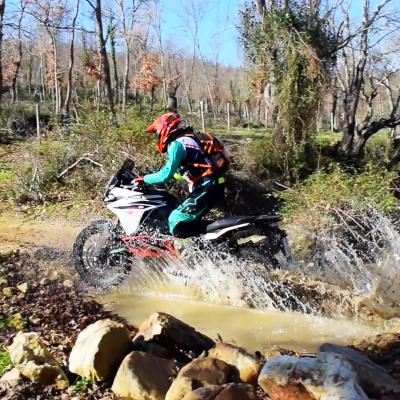 River crossing KTM 1090 adv
